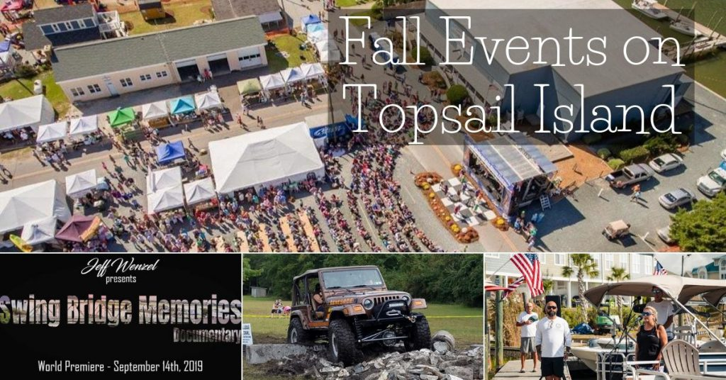 Fall events on Topsail Island, NC